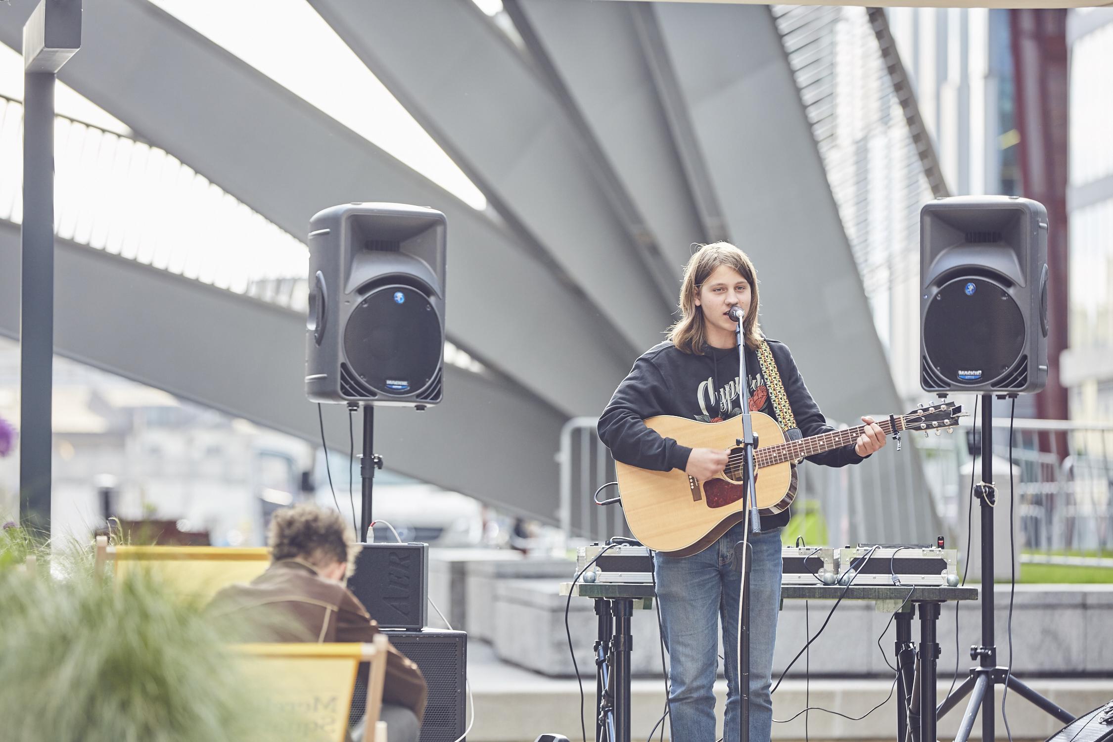Merchant Square presents Live Music   Sunset Sessions